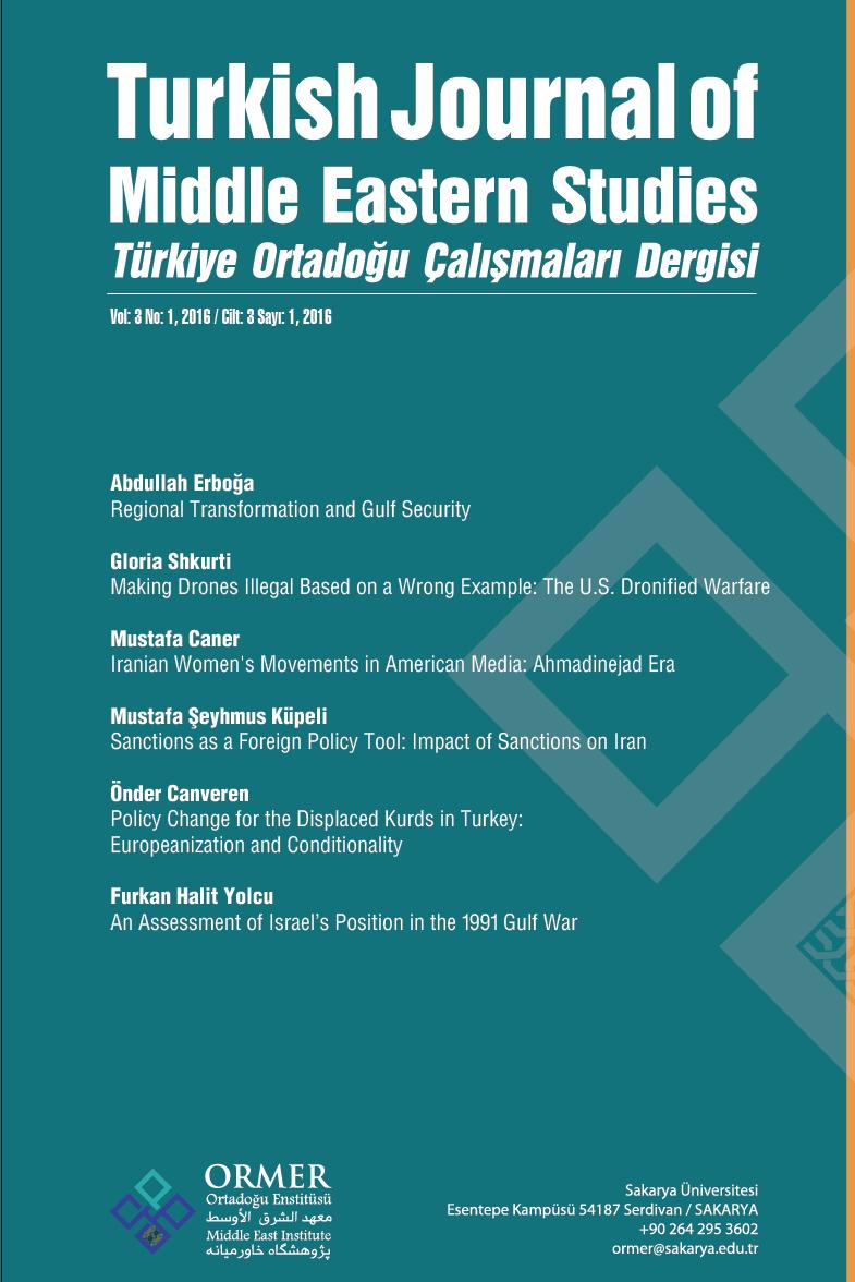 Türkiye Ortadoğu Çalışmaları Dergisi