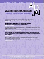 Akademik İncelemeler Dergisi